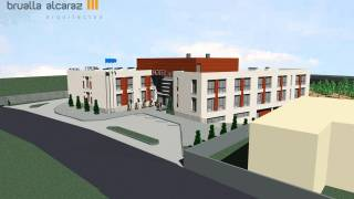 Hotel Binefar2. Brualla-Alcaraz. Arquitectos.