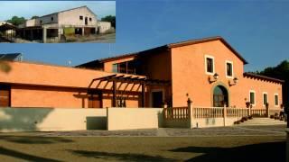 """Rehabilitación de edificio y entorno para restaurante y eventos. """"Las Casas de Adamil"""". 001. Miguel Angel Brualla Palacín. Brualla-Alcaraz. Arquitectos."""
