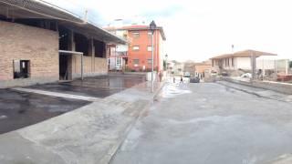 Entorno 1. Local social. Calles. Fonz. Brualla-Alcaraz. Arquitectos.