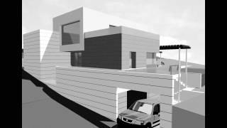 Vivienda unifamiliar aislada con garaje. Piscina. Monzón . Huesca. Arquitectos. Brualla Alcaraz. 1