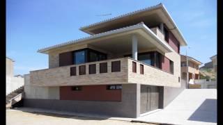 Vivienda unifamiliar aislada con garaje. Almunia de San Juan. Huesca. Arquitectos. Brualla Alcaraz. 2