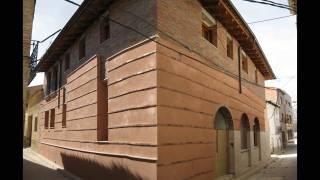 Reforma y ampliación de edificio para vivienda, local y garaje. Pueyo Santa Cruz. Miguel Angel Brualla Palacín. Arquitecto. 1
