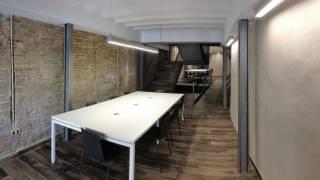 Sala de estudios. Plaza Mayor. Ayuntamiento de Monzón. Brualla-Alcaraz. Arquitectos. 1