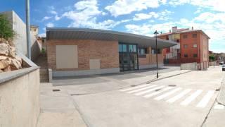 Local sociocultural. L´Urmo. Fonz (Huesca)